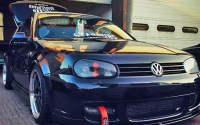 Sponsored car spotlight – VW Golf Mk4 on Meth